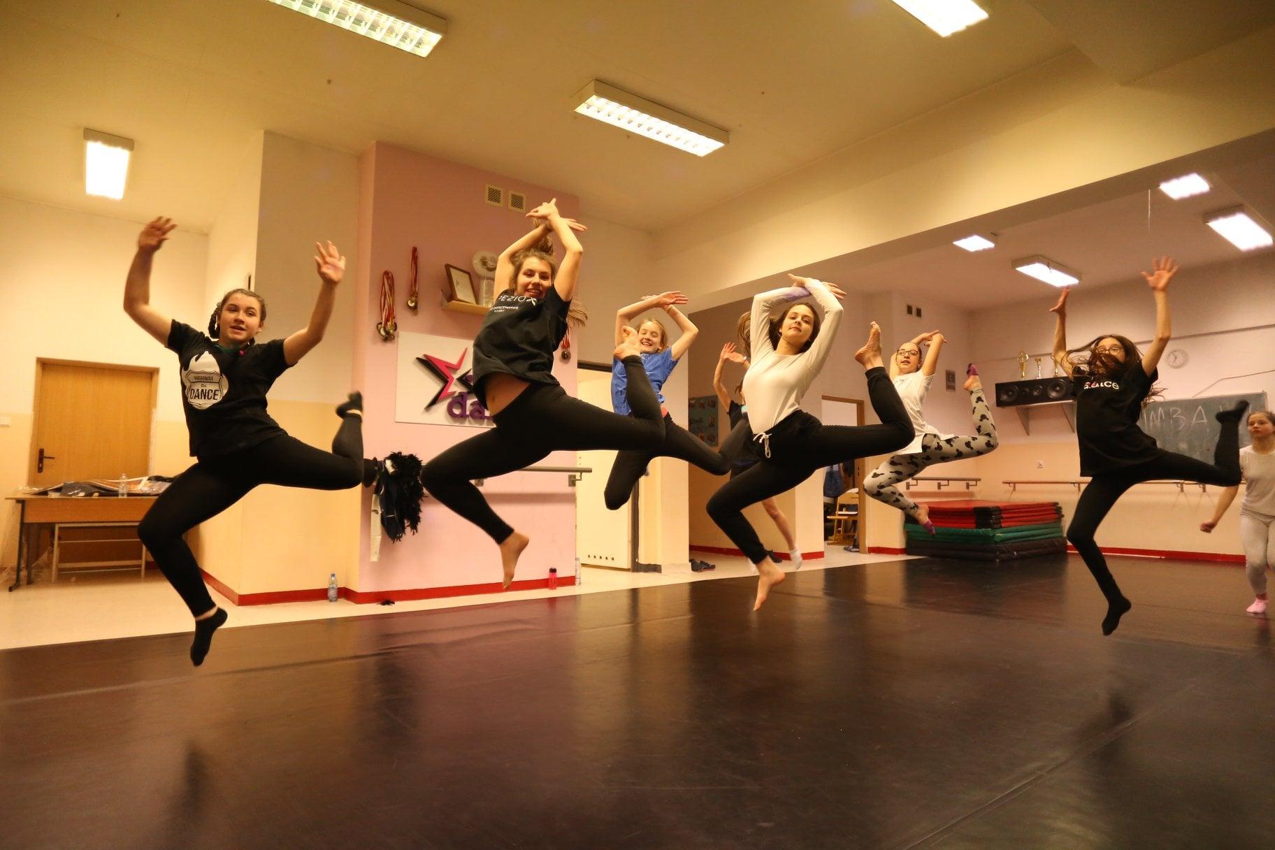taniec modern jazz warszawa