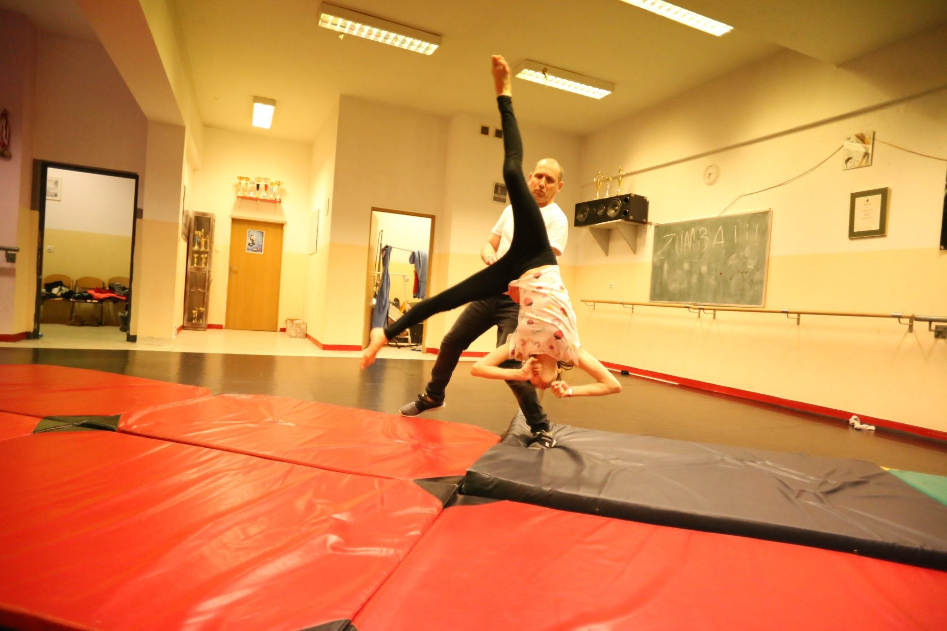 akrobatyka warszawa